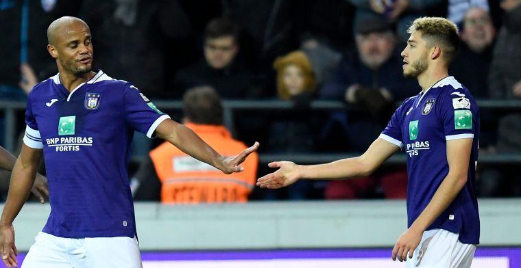 Colassin zet Anderlecht in vuur en vlam: 'Nu al meer laten zien dan Roofe'