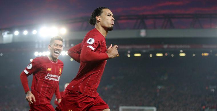 'Invincible' Liverpool zet Man United op 30 punten dankzij Van Dijk en Salah