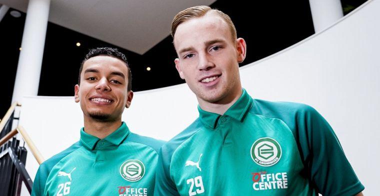 Groningen draagt duo nu al op handen: 'Het is hier wel anders dan bij Ajax'