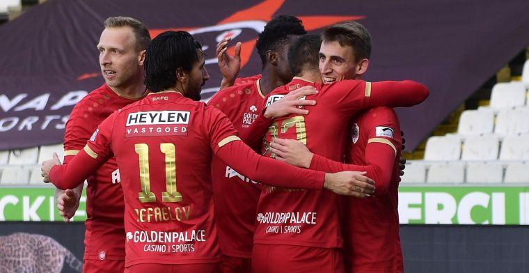 Tienkoppig Antwerp komt met de schrik vrij tegen Cercle Brugge