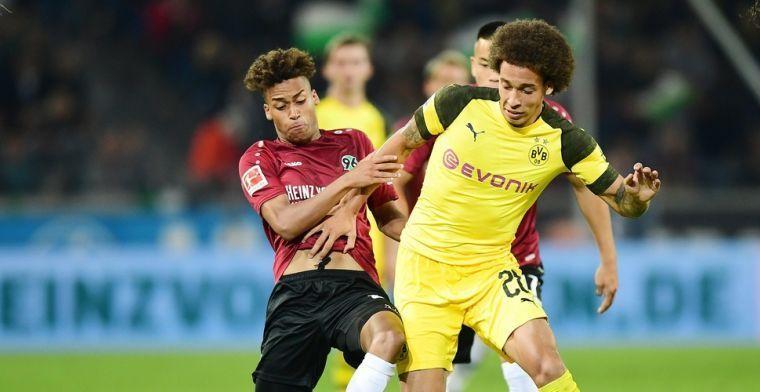 Witsel kan zijn ogen niet geloven bij Dortmund: 'Proficiat met je debuuthattrick!'