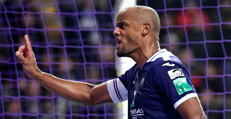Anderlecht-supporters tonen onvrede na nederlaag, Kompany grijpt zelf in