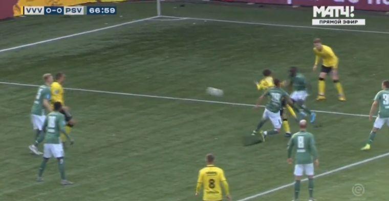 PSV in de penarie in De Koel: Boscagli geeft penalty weg, VVV op voorsprong