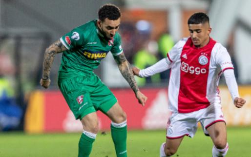 Afbeelding: Dubbel feest in Amsterdam: Jong Ajax koploper van Keuken Kampioen Divisie