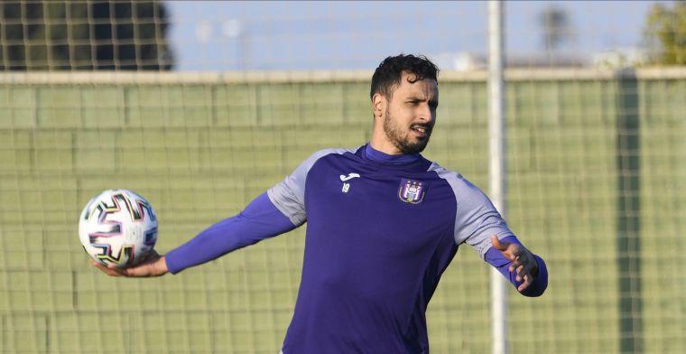 Chadli zakt weg bij Anderlecht: 'Hij is nog altijd geen honderd procent'