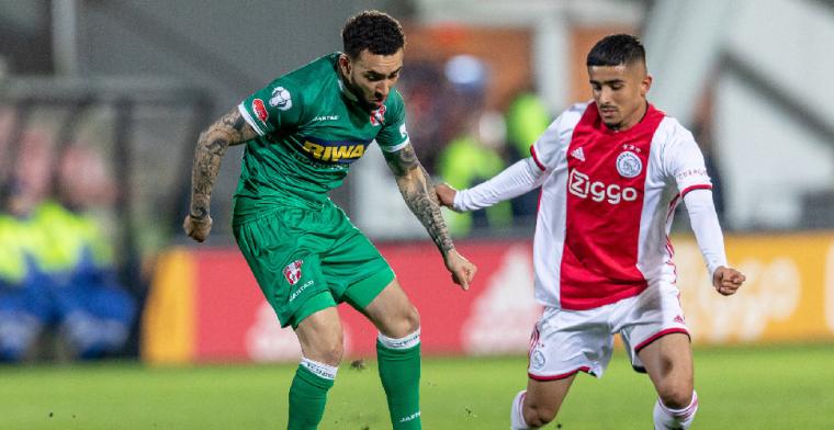 Dubbel feest in Amsterdam: Jong Ajax koploper van Keuken Kampioen Divisie
