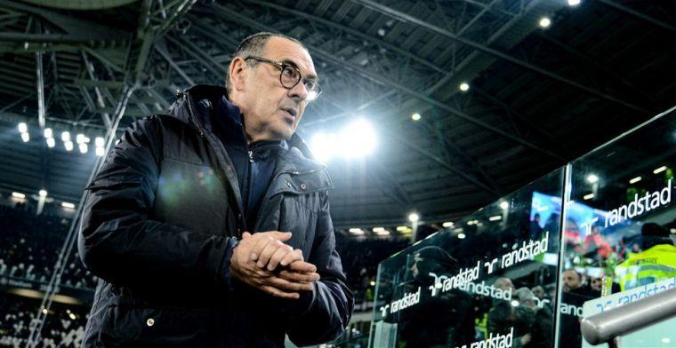 Sarri 'ergert' zich aan Juventus-defensie: 'Krijg liever tegengoal uit counter'