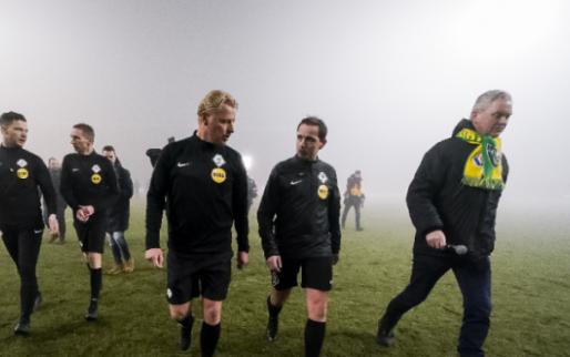 Update: Fortuna Sittard en Feyenoord beginnen restant van duel om 20.00 uur