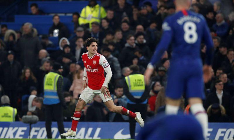 Afbeelding: Chelsea geeft voorsprong twee keer weg tegen tien man Arsenal in heerlijke derby