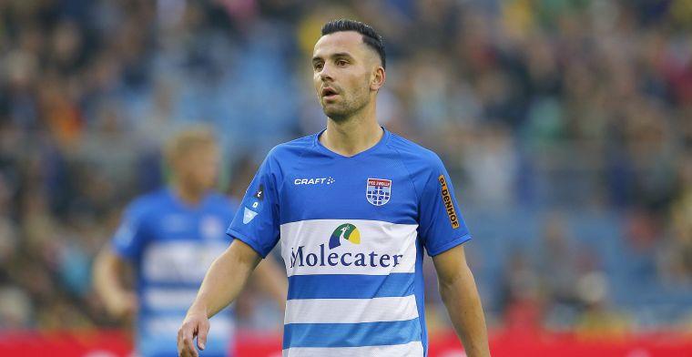 'NAC heeft opnieuw interesse en wil PEC Zwolle-middenvelder naar Breda halen'