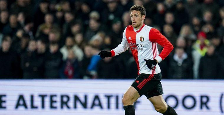 Botteghin: 'Misschien wel de slechtste wedstrijd sinds ik bij Feyenoord speel'