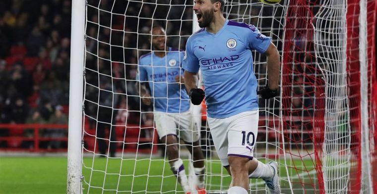 City maakt laat het verschil dankzij De Bruyne, verschil met Liverpool 13 punten