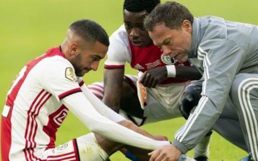 Nieuws uit Amsterdam: Ajax komende weken zonder uitblinker Ziyech