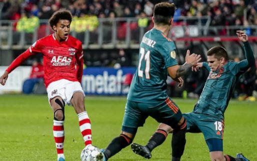 Ajax shopt ondanks herenakkoord bij AZ: spits kan na 28 januari tekenen