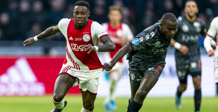 Spaan: 'Mannetje met attitude Promes kleineerde Eiting bij Ajax'
