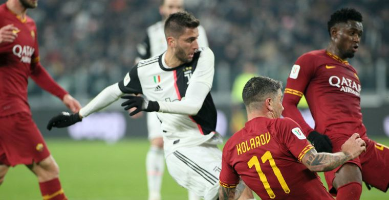De Ligt ziet bekerzege Juventus vanuit de dug-out, Kluivert bij rust gewisseld