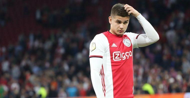 'Club Brugge en Antwerp krijgen nieuws van Ajax omtrent transfer van Marin'
