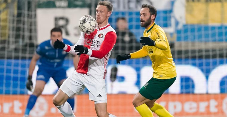 Loyale Jörgensen wil supporters wat teruggeven: 'Feyenoord is mijn club geworden'