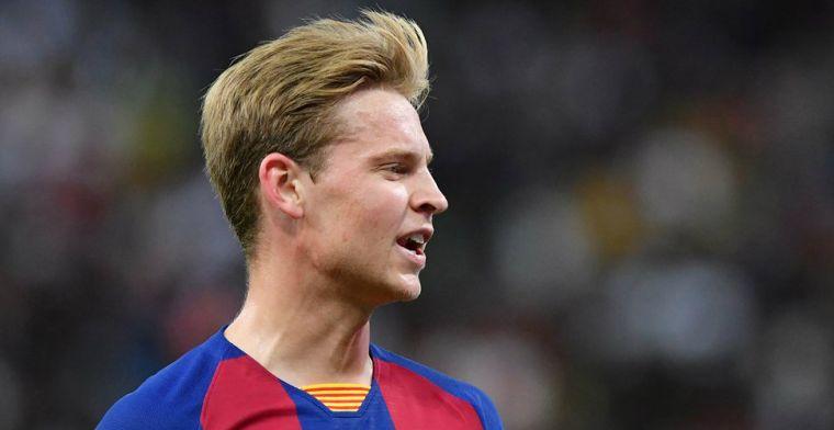 Barça met de schrik vrij op Ibiza: Griezmann voorkomt totale blamage in minuut 94
