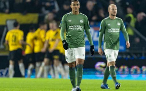 Erbarmelijk PSV verspeelt laatste kans op een prijs na wanvertoning in Breda