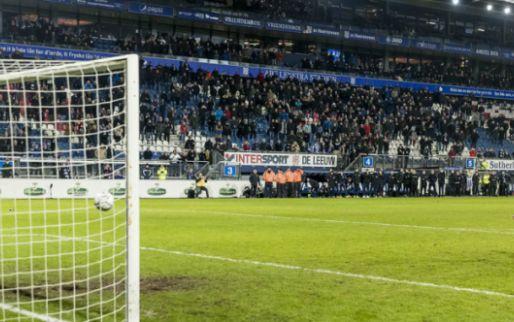 Schrik bij Heerenveen: grote knal in Abe Lenstra Stadion, supporters ontsnappen