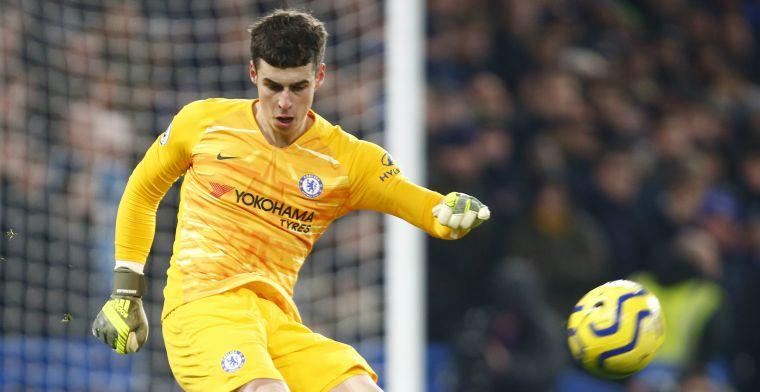 'Chelsea verrast en zoekt vervanging voor duurste doelman aller tijden'