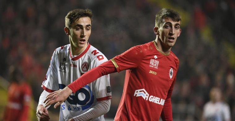 Kortrijk verrast Antwerp en haalt goed resultaat voor terugwedstrijd in eigen huis
