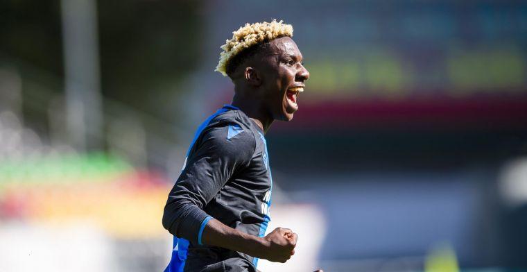OFFICIEEL: Ochieng (16) tekent eerste profcontract bij Club Brugge