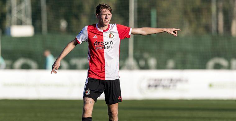 Witte rook uit Rotterdam: Feyenoord stalt talentvolle Burger bij Excelsior