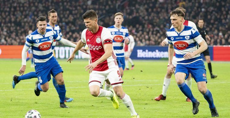 'Ik ben voor Ajax... Je mag het niet zeggen, maar heb hier wel vrede mee'