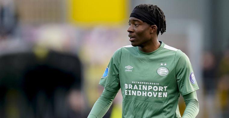 PSV-fans moeten wachten op Madueke: 'Dat zal gebeuren bij Jong PSV'