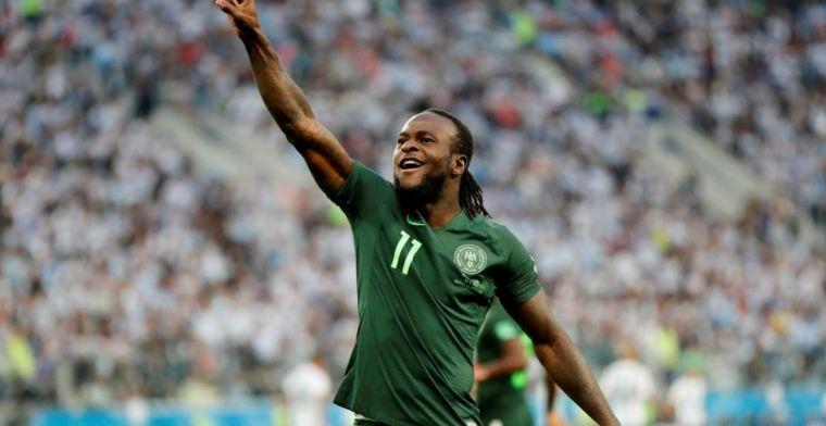 OFFICIEEL: Lukaku krijgt extra hulp, Internazionale haalt Moses weg bij Chelsea