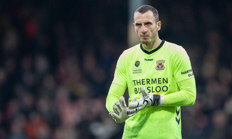 Afbeelding: Doelman schiet Go Ahead Eagles naar kwartfinale: 'Ik wilde eigenlijk al eerder'