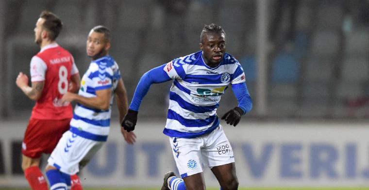 Owusu kan naar de Eredivisie: Of het deze winter rondkomt, weet ik niet