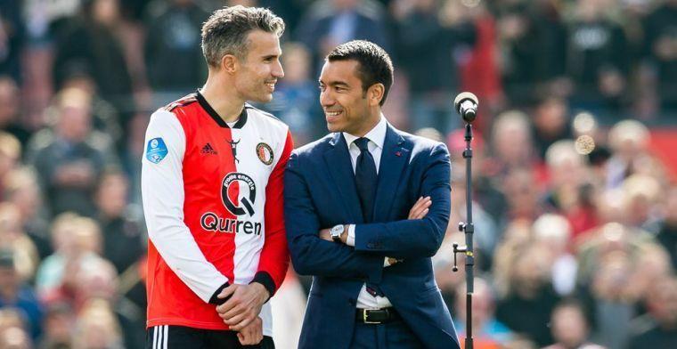 Onthulling Van Persie: 'Kompany vroeg me om naar Anderlecht te komen'