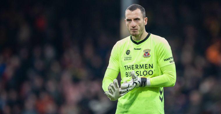 Doelman schiet Go Ahead Eagles naar kwartfinale: 'Ik wilde eigenlijk al eerder'