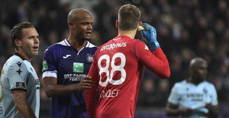 Mogelijk straf voor Anderlecht na bommetje en spreekkoren tegen Club Brugge