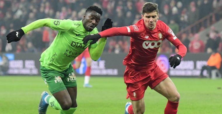 Standard komt na comeback met de schrik vrij tegen KV Oostende