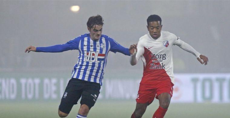 'Komende jaar zal blijken of club in subtop of top Eredivisie hem gaat benaderen'