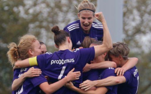 Afbeelding: De Caigny schiet vrouwen van Anderlecht voorbij Genk naar bekerfinale