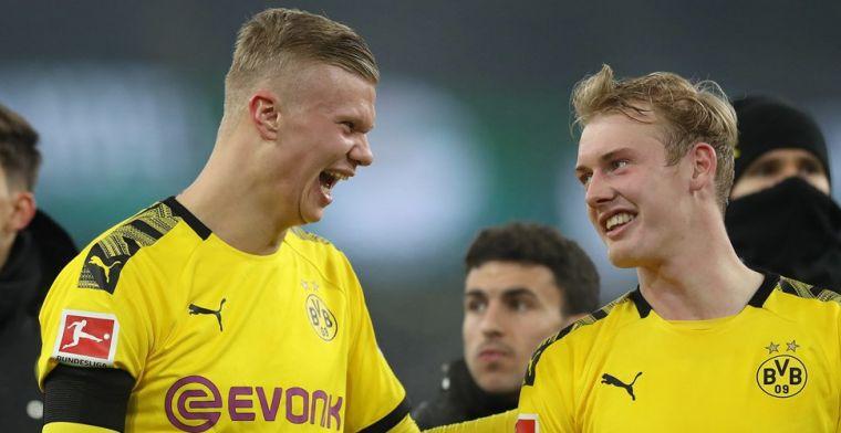Dortmund vol lof over sensatie Haaland: 'Maar zonde dat het nu al minder wordt...'