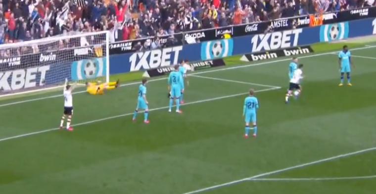 Barça in de problemen in Mestalla: sterker Valencia verdiend op voorsprong