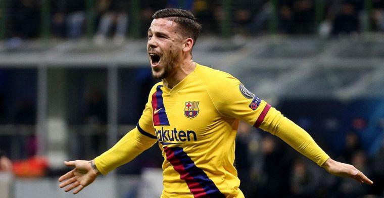 'FC Barcelona stuurt verraste aanvaller onverwacht naar Rome'