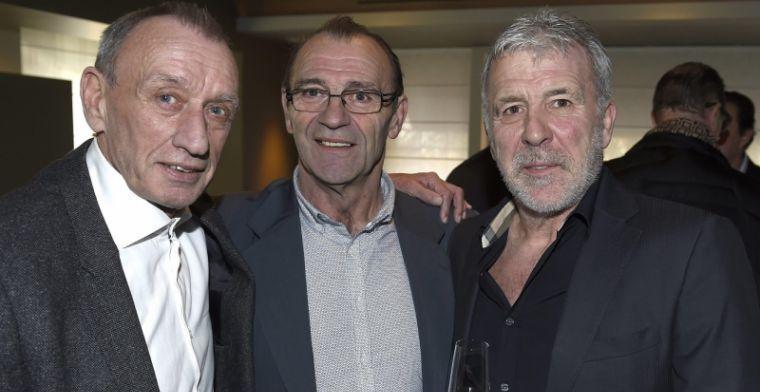 Anderlecht en Club Brugge nemen afscheid van Rensenbrink: 'Een icoon'