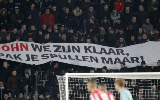 Chaos in Eindhoven: woedende PSV-fans bestormen ingang, ME voert charges uit