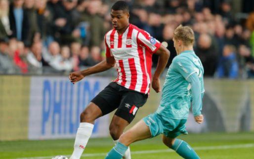 LIVE: PSV na een uur spelen op voorsprong, opnieuw Dumfries met het doelpunt