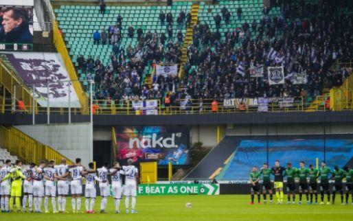 Anderlecht-fans uiten frustratie ook in Brugge: 'Shame on you!'