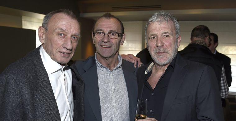 Voetbalwereld rouwt om Rensenbrink: Dé grote attractie bij Anderlecht