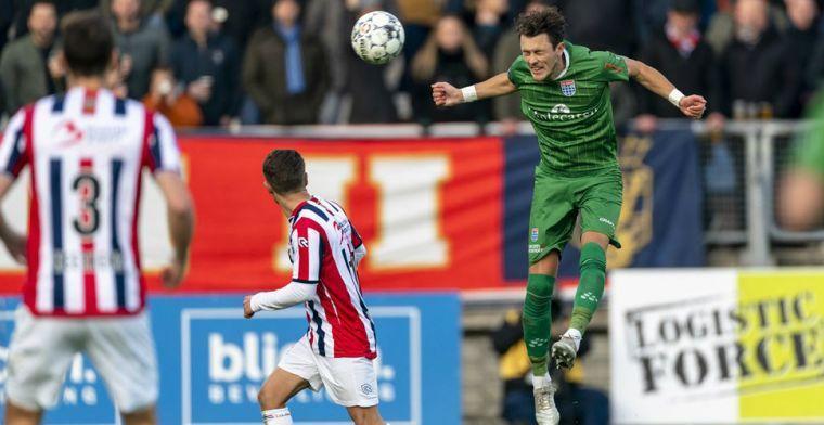 Weer domper voor Willem II na bekerdrama: gedeeld derde met Feyenoord