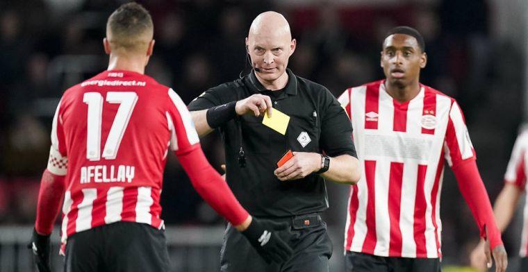 Afellay over rode kaart: 'Ik was eerder bij de bal, logisch dat je zo inkomt'